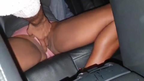 Fingering In Car
