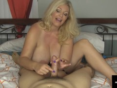Cock Craving Cougar Charlee Chase Milks Your Dick With Joy!