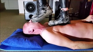 Trampling with 3 different Doc Martens Boots (Trailer)