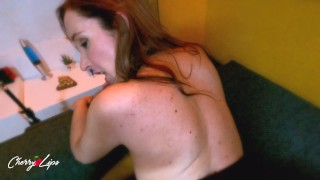 April fools day ends fucking my Spanish roommate by mistake - Cherry lips 4k