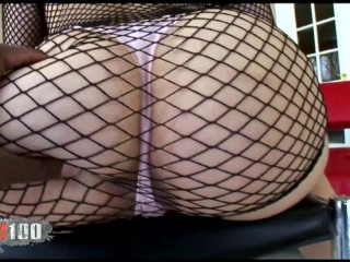 Jazmin Cashmere and Tia Sweets interracial anal threesome with Nat Turnher