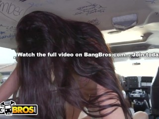 BANGBROS – Busty Brunette Karlee Grey On The Bang Bus, She's Absolutely Perfect