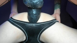 Trailer- pegging with a black bbc