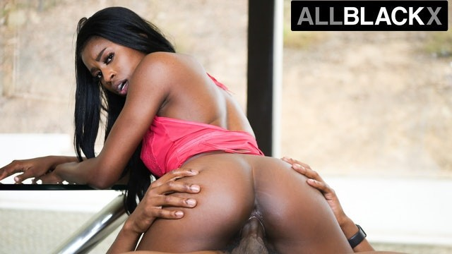 AllBlackX - Long Legged Beauty Nicole Kitt Takes Dick Like A Pro