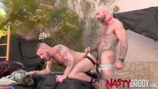 NASTYDADDY Hunk Sean Harding Raw Fucked By Drew Sebastian