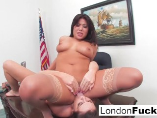 London Keyes And Big Boobed Alison Tyler fuck