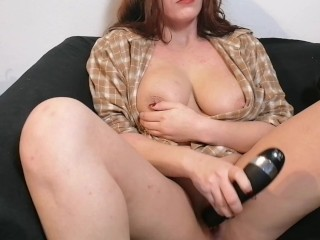 Making Myself Cum and Squirt Over and Over Again  Loud Shaking Orgasm