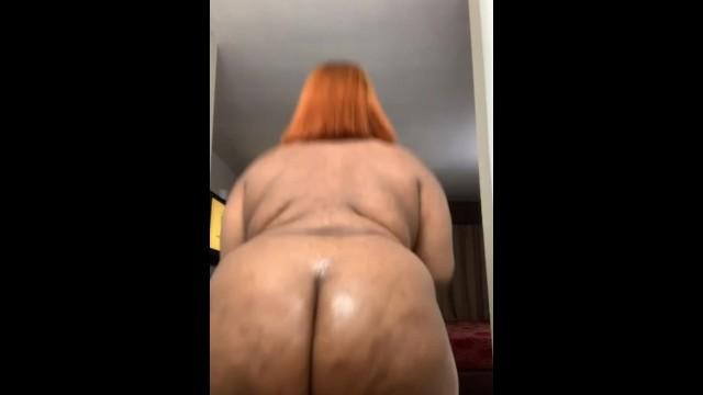 Big Booty Black Creampie