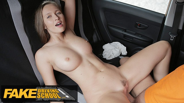 Driving School Stacey Cruz Gets Screwed by her Driving Instructor