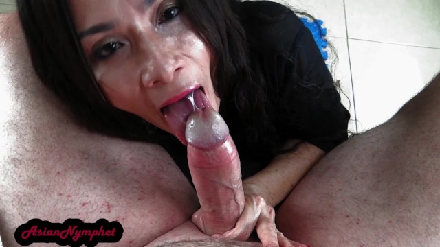 POV Cock Worship Huge Facial AsianNymphet
