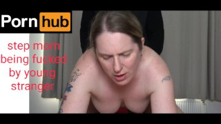 footage Mom Gets Fucked By Stranger On Her Step Son Bed