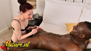 Mature Redhead Wants a Hard Black Cock To Please Her
