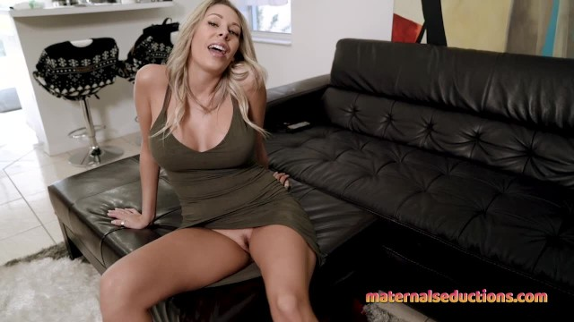 Step Mom is Horny and Wants to Fuck before her First Date - Nikki Brooks