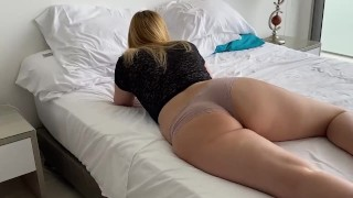 Screen Capture of Video Titled: I sneaked into my room and i fucked her