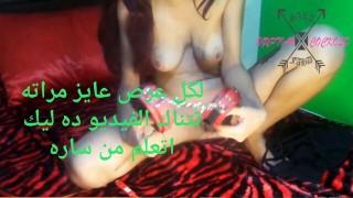 Egyptian Miss Sara الملكه ساره بتعلم كل ديوث ازاي يعرص علي مراته