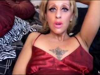 Dirty Blonde Milf Homewrecker Slut Sucks Fucks & Takes Your Cum In Pussy-Lourdes Noir
