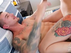 Victoria Can Barely Take All The Dick On Tatted Bad Boy John!