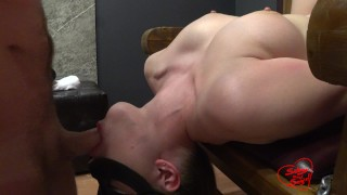 Facefuck in kinky style she loves to cum on her face and mouth by SOboyandSOgirl