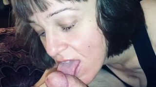 Dirty Marie BJ cum and in mouth compilation