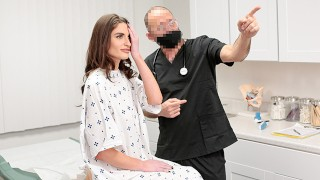 Innocent Mia Taylor Has To Pay The Perv Doctor With Her Pussy