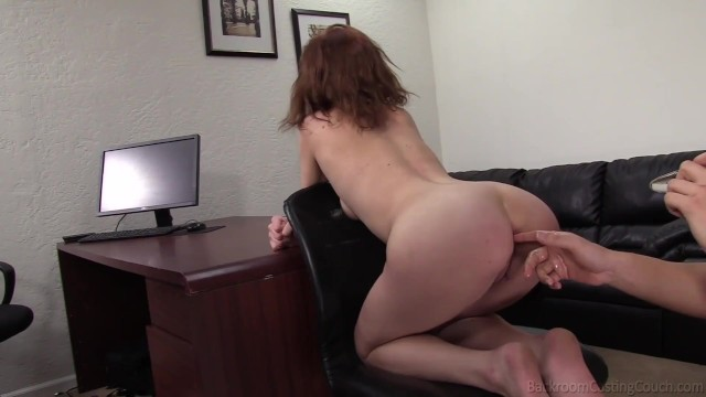 Short Haired Jazmine Ass Fucked For The Producers!