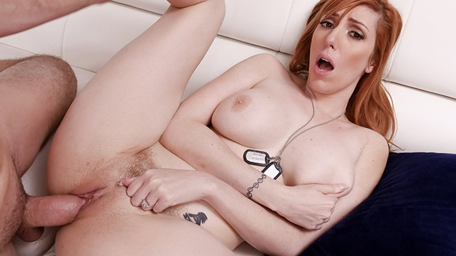 Army Wife Slut Lauren Phillips Cheats On Her Husband With Her Stepson