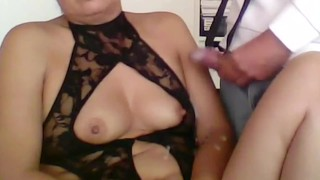 MATURE MOTHER, CUMSHOTS IN HER HAIRY PUSSY, TITS AND BIG ASS, FULL CUMSHOTS