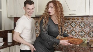 SHAME4K Lovely MILF is trying to be a great neighbor for handsome guy