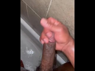 Showertime Masturbation