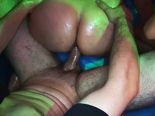 her first rough slippery party orgy best homemade porn videos