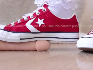 Unboxing + First Use | Converse Star Player EV OX | Enamel Red