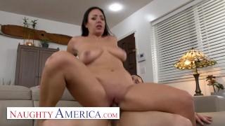 Naughty America – Instead of tutoring, hot Latina Milf, Kitten Latenight, fucks her sons friend