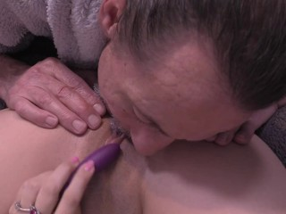 Close Up Pussy and Clit Licking Until Queen Mona Squirts With An Intense Pulsating Real Orgasm