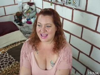 Plus Size BEAUTY was expecting fashion casting, got HARD ANAL and CREAMPIE instead