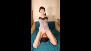 I love face sitting, pussy licking