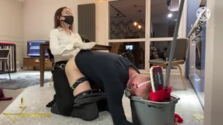 husband was ucked like a bitch - full clip on my Onlyfans link in bio)
