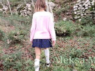 in the woods, reality, outdoor, russian schoolgirl, doggystyle, pov doggy, fucking outside, teen (18+), cum panties, public naked, creampie, without panties, cum ass, outside public sex, real public sex, babe, cumshot, outdoor sex, voyeur upskirt, public upskirt, public, verified amateurs, schoolgirl creampie, behind the scenes