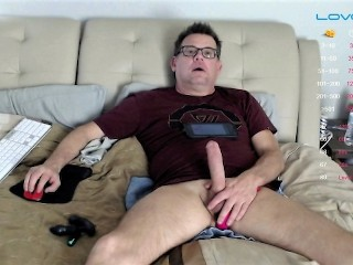On Chaterbate They Were Vibrating My Ass, I my COCK I came HARD AF