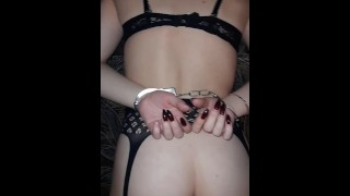 spanked stepsister with whip and cock