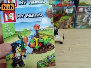 Vlog 34: a sexy Lego Minecraft garden