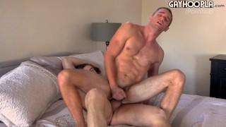 Tall Slender Teen Randy Gives Logan A Huge Facial