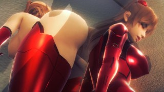 [EVANGELION] Asuka in hospital with you (3D PORN 60 FPS)
