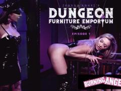 BurningAngel Joanna Angel Destroys Her Gorgeous Client's Ass In Her BDSM Store