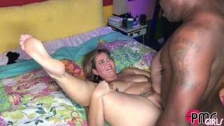 JAY PLAYHARD SLAMMING TATTOOED PAWG HOTWIFE MISS KLEO WHILE HUBBY WATCHES