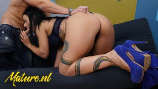 Big Ass MILF Bonny Devil Fucked In Her Pussy & Mouth By ToyBoy