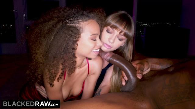 BLACKEDRAW Naomi blindfolds bestie Cecilia for BBC surprise