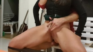 Step mother betray the husband and fuck Mr Pablo with strong anal sex, MUST TO SEE