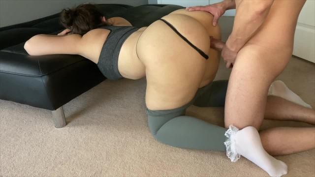 Girl Masturbating Yoga Pants