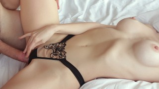 Sensual Missionary Sex with Hot Babe