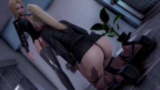 Tsunade Boss Fuck Ino [Part 2][3D]